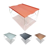 camping mini table folding table small portable folding compact aluminum alloy tables for home hiking camping mountaineering