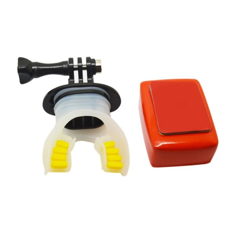Teeth Braces Holder Surfing Underwater Camera Mouth Mount For GoPro Hero 6/5/4/3 dropship enlarge
