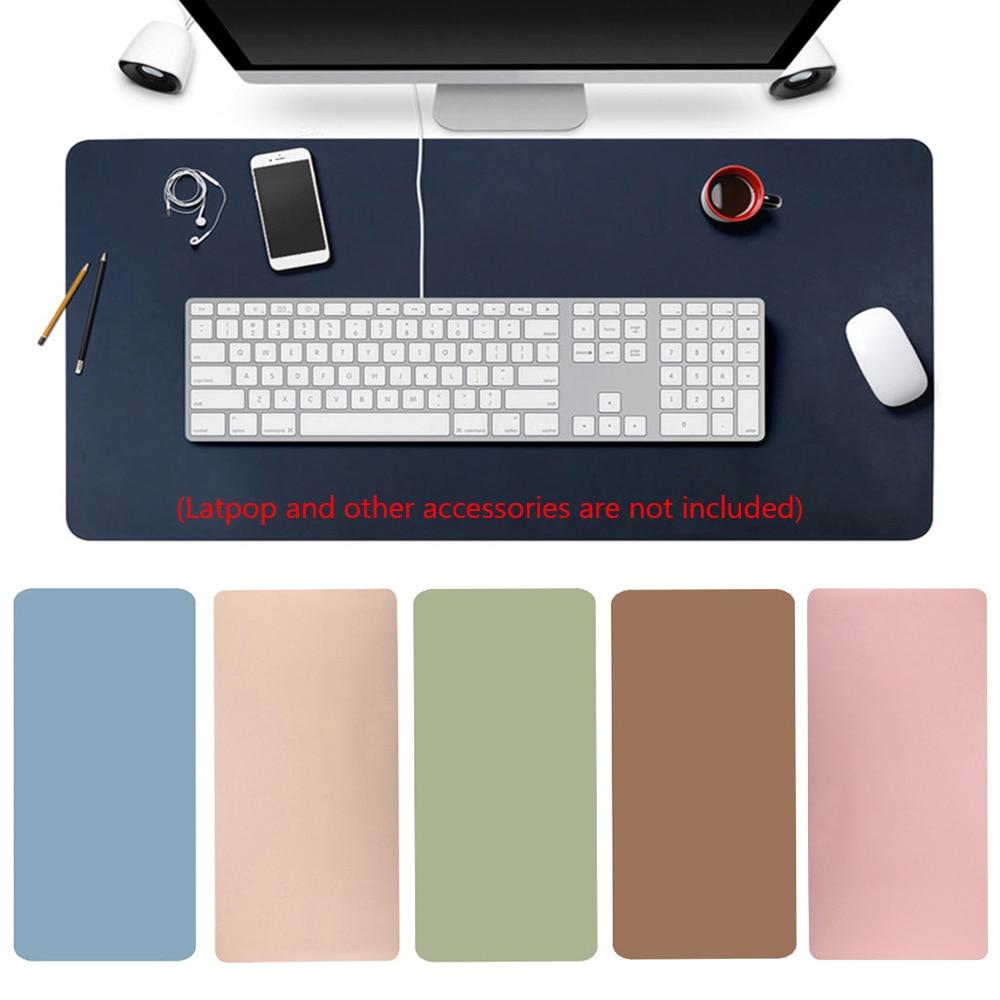 600X300x2mm cuero moderno juego de mesa teclado alfombrilla de ratón Oficina alfombrilla para escritorio de ordenador cojín para ordenador portátil al por mayor