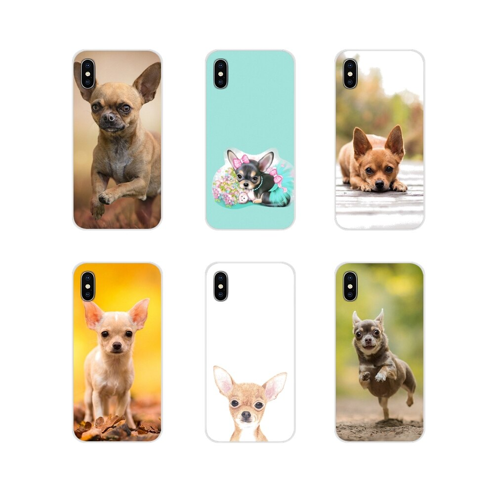Чехол для телефона чихуахуа, собаки для Xiaomi Mi4 Mi5 Mi5S Mi6 Mi A1 A2 A3 5X 6X 8 CC 9 T Lite SE Pro, аксессуары