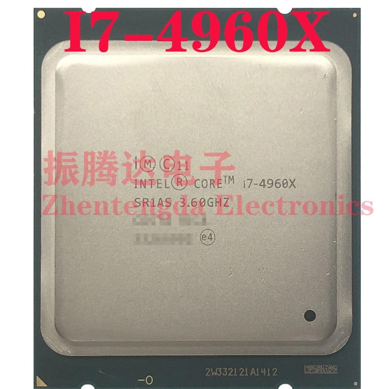 Intel Core i7-4960X CPU 3.6GHz-4GHz L3-15MB 6 Core 12 Threads LGA 2011 i7 4960X CPU Processor