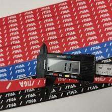 Professionele 2Pcs Stiga Tafeltennis Edge Tape Pingpong Racket Side Tape Beschermen Zwart/Rode Rand Desk Bescherming Geschenken