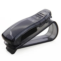 2020 new car sun visor glasses sunglasses ticket receipt card holder clip storage mount