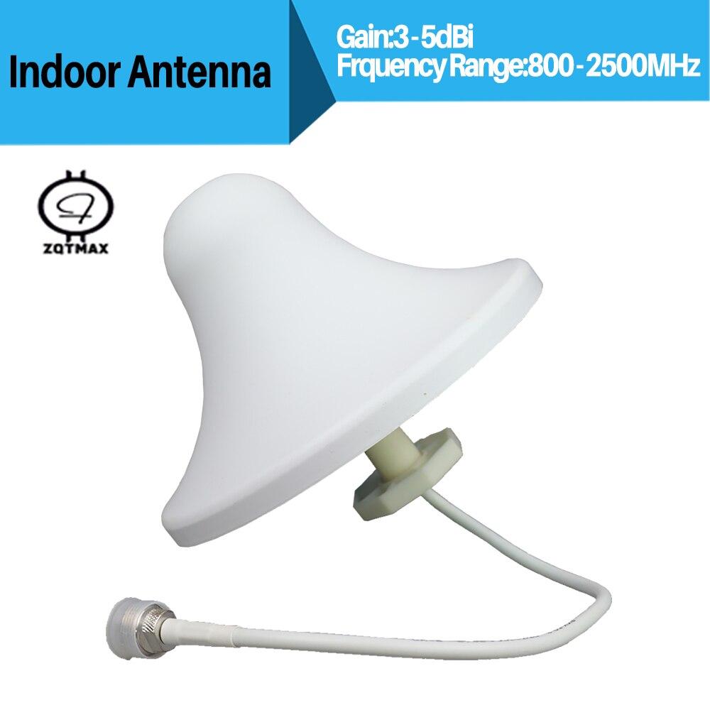 ZQTMAX Omni антенна для 2G 3G 4G повторитель 850 900 1800 1900 2100 2600 усилитель LTE антенна 4g Усилитель сотового сигнала