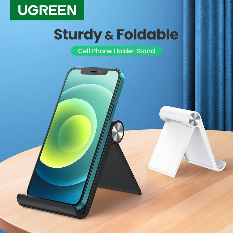 Ugreen Adjustable Mobile Phone Holder Stand Foldable Smartphone Support Tablet Stand for Phone Desk