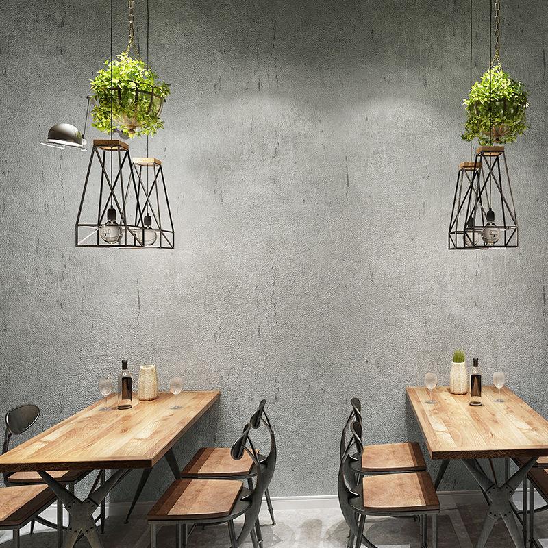 Домашний декор, однотонные обои, тисненые бетонные стены, серые обои, 3d обои, фотообои для гостиной, настенные Объемные обои