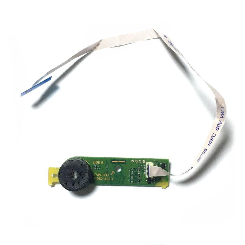 Interruptor de encendido/apagado de expulsar botón placa de circuito impreso con Cable...