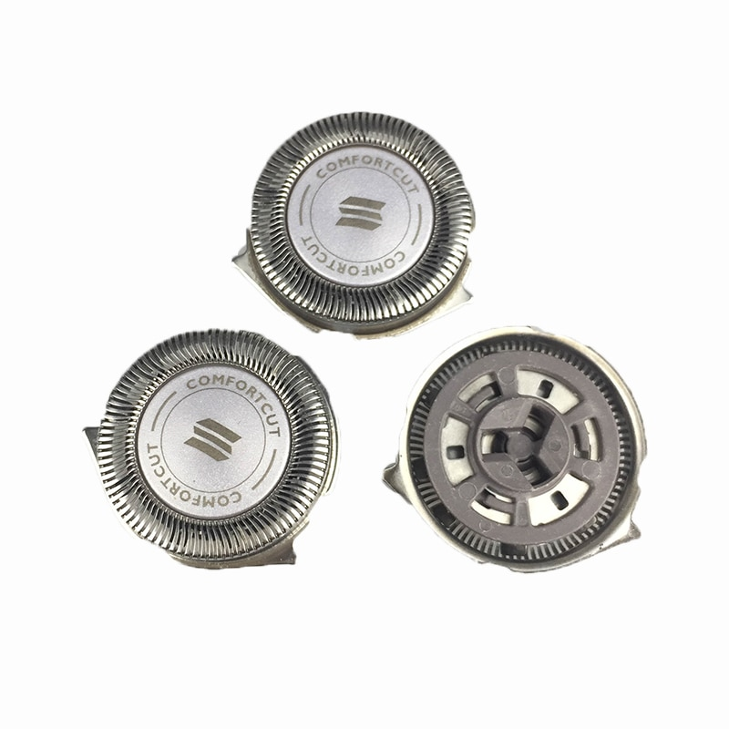 3 uds navaja de afeitar la cabeza para Philips Norelco SH50 S5000 S5010 S5380 S5570 S5571 S5420 S5080 S5081 hoja de afeitar