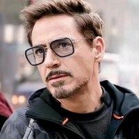 wergasun samjune iron man 3 matsuda tony stark sunglasses men rossi coating retro vintage designer sun glasses oculos masculino
