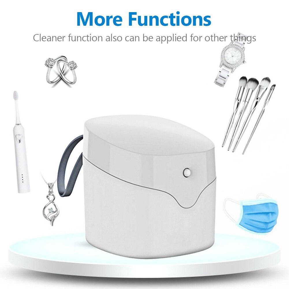 Caja de esterilizador UV Mini, caja esterilizadora para teléfono con luz UV, limpiador para joyas y teléfonos, caja desinfección Personal para desinfección de armarios