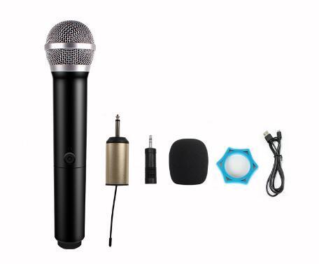 Wireless Karaoke Microphone MIC mikrofon KTV Karaoke player Echo System Digital Sound Audio Mixer Singing Machine MICE3 enlarge