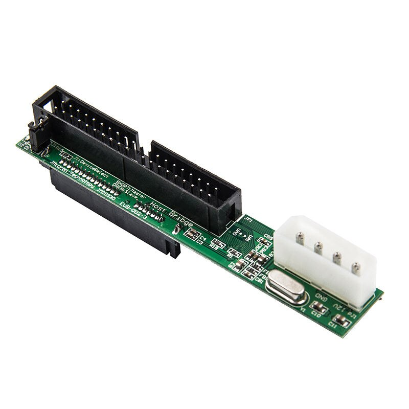 7 + 15Pin 2 5 Sata Женский до 3 дюймов Ide адаптер конвертер мужской 40 Pin порт для Ata 133 100 Hdd Cd