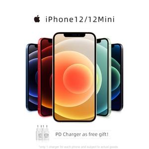 Оригинальный новый оригинальный смартфон iPhone 12/12 Mini 5G 6,7/5,4 дюймов XDR дисплей 12 МП Двойная камера A14 Bionic IOS 14 Bluetooth