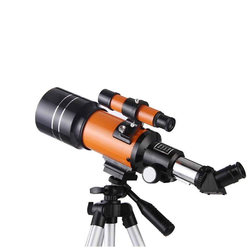 Telescópio Astronômico Profissional Visão Noturna Espaço Profundo Vista Estrela Lua 1000 Monocular hd