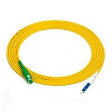 10PCS/bag SC/APC -LC/UPC Simplex singlemode fiber optic patch cord 2.0mm or 3.0mm