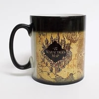 cup drink gifts mugcolor tea map marauders creative creative cup mug changing drinkware magic mischief hot managed wine changin