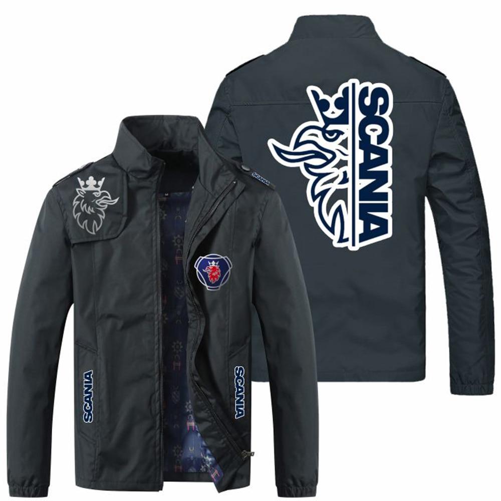 2021 New Men's Jackets Spring Fall Fashion Slim Coat Men's Casual Baseball Motorcycle Jacket Zipper