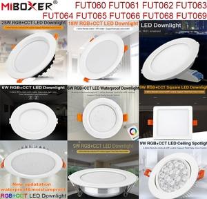 MiBoxer 6W 9W 12W 15W 18W 25W RGB+CCT LED Downlight Ceiling Spotlight FUT060 061 062 063 064 065 066 068 Indoor Panel lighting