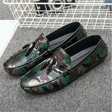 2021 New Spring and Summer Casual Leather Shoes Men's Trend Korean Version of All-match British Pers