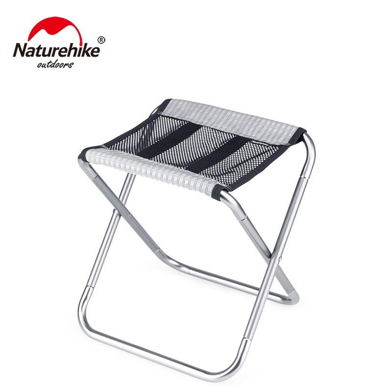 Naturehike Portable Outdoor Foldable Nylon Cloth Folding Fishing Chair Lightweight Picnic Camping Chair NH20JJ006