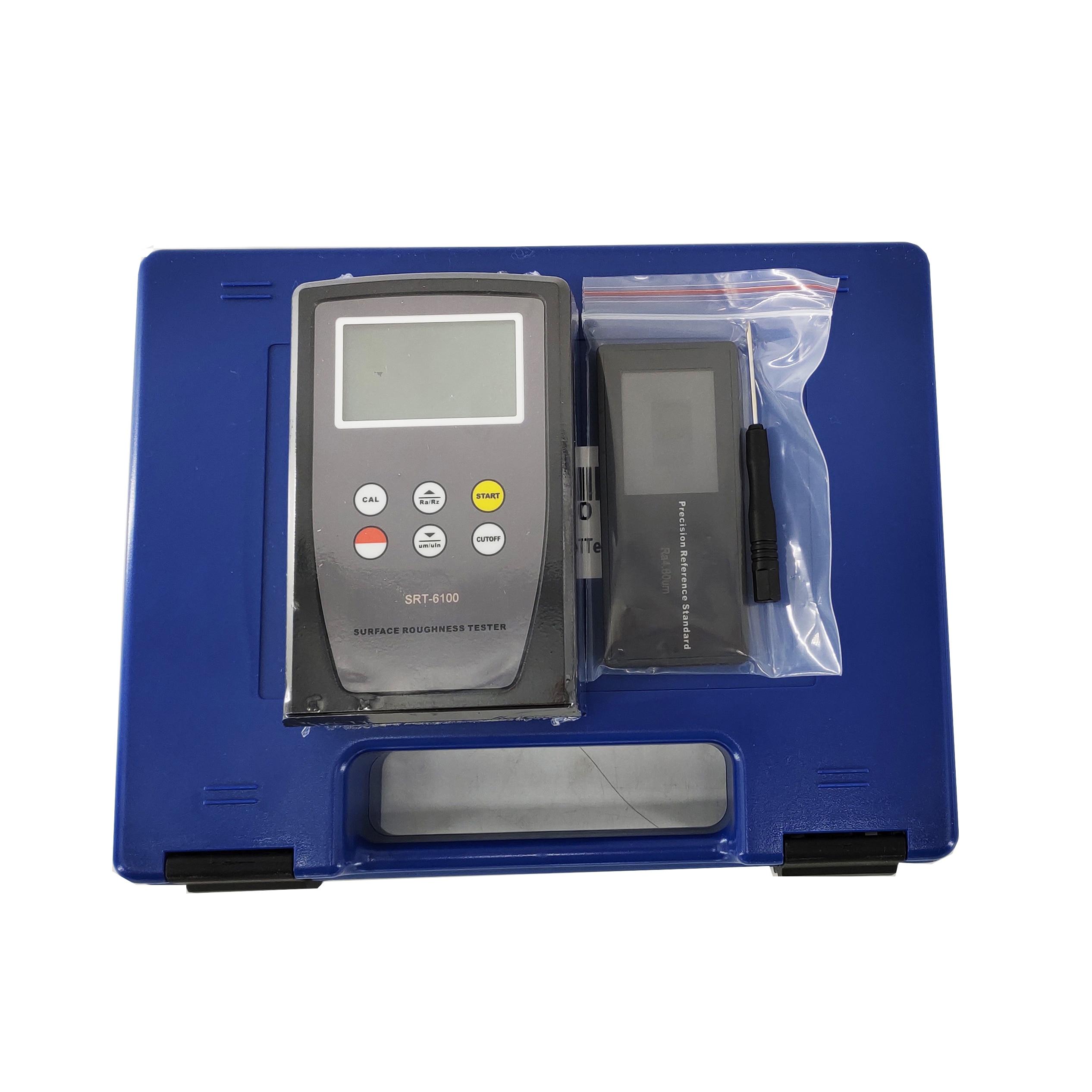 Ra Rz معلمات قياس أداة قياس خشونة الأسطح السعر مع SRT-6100 الرقمية LCD لوح التزلج مقياس بروفيلوميتر الشخصي