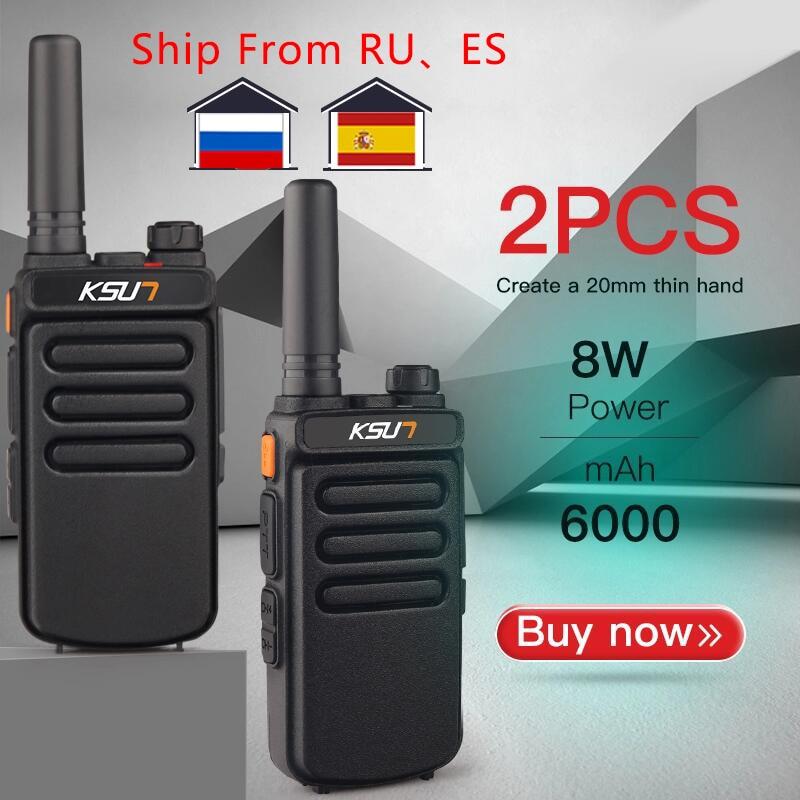 1 أو 2 قطعة KSUN X65 تخاطب لاسلكي الماسح UHF اسلكية تخاطب 10 كجم اتجاهين هام محطة راديو راديو Comunicador لاسلكي