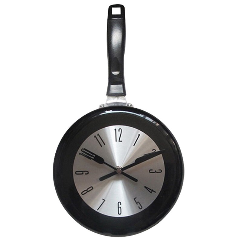 QMJHVX-reloj de pared moderno con sartén de Metal, para sala de estar,...