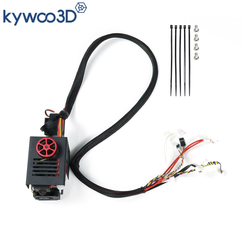 kywood3D Full Assembled Extruder Nozzle Kit With Cooling Fan for Tycoon Series 3D Printer Simple Installation 3D Printer Parts