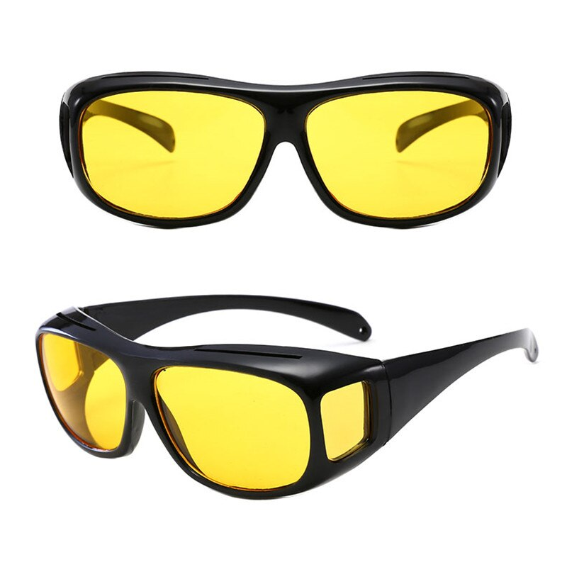1PCS Anti-Glare Night Vision Car Night Vision Sunglasses Night Driving Glasses Driver Goggles UV Protection Eyewear