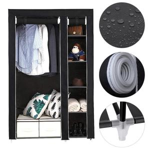 Delivery Normal DIY Non-woven Fold Portable Storage Furniture Wardrobe Cabinet Bedroom Furniture Dust-proof Moisture-proof HWC