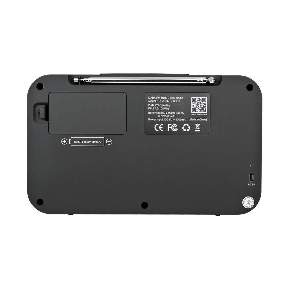 GTmedia Z3B DAB Portable Radio FM  Digital Recorder 2.4 inch TFT-LCD color display Support Bluetooth digital player enlarge