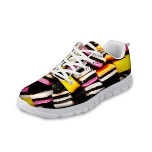 HaoYun Women Nurse Sneakers Colorful Candy Pattern Girls Casual Walking Shoes Nursing Flats Student Shoes Zapatos Tenis Feminino