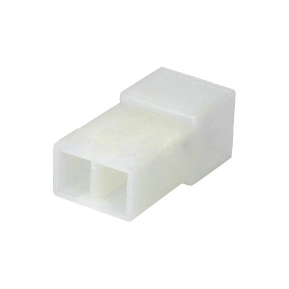 موصل بلاستيك للسيارات ، 10/20/30/50/100 مجموعة ، 2 دبوس ، 180924-5