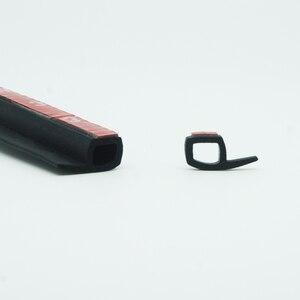 Image 4 - P Тип 1 8 м резиновая уплотнительная лента для автомобильной двери, шумоизоляция, уплотнительная лента для автомобильной двери, уплотнительная лента, резиновая противопыльная Автомобильная уплотнительная лента для дверей