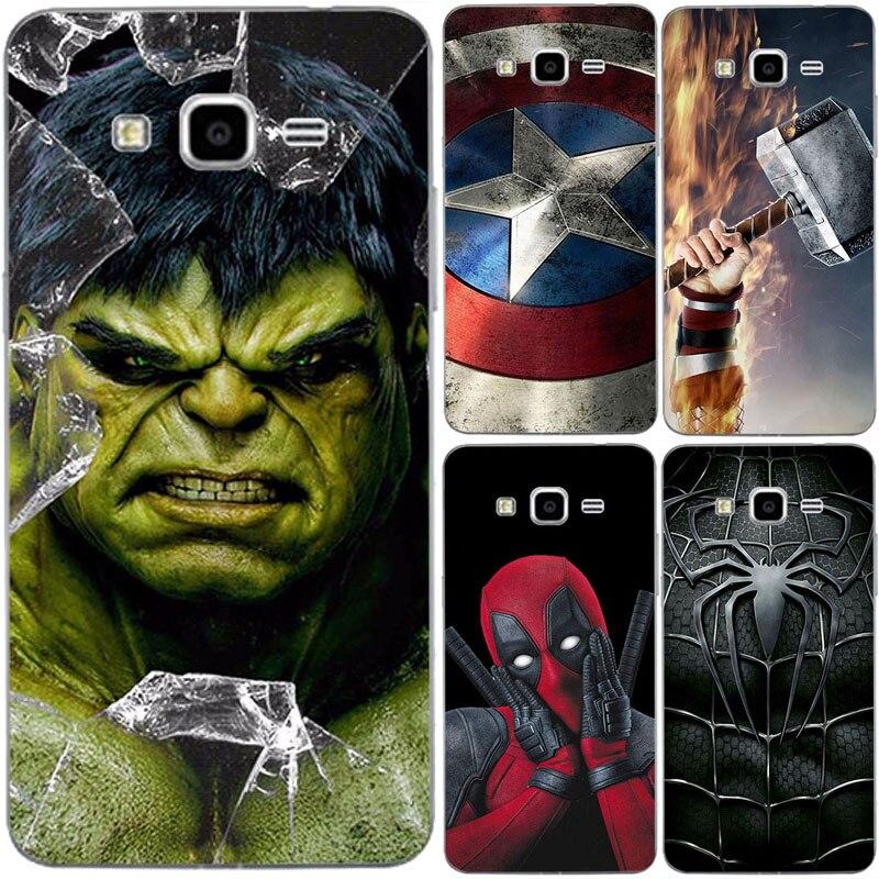 Супергерой чехол для телефона чехол для samsung Galaxy чехол для Grand Prime Coque для samsung Grand Prime Duos G530F G530H G530Y Супермен