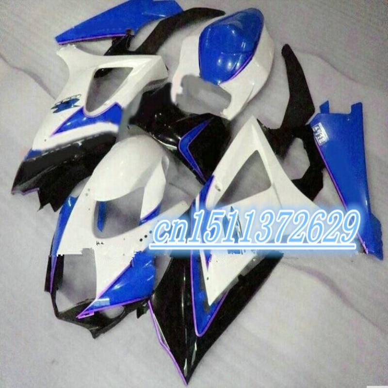 Dor-Un GSXR1000 K7 07-08 GSX-R1000 07 08 GSX R1000 azul blanco negro...