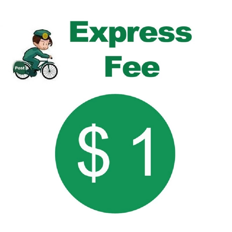 Extra Fee/cost just for the balance of your order/shipping cost