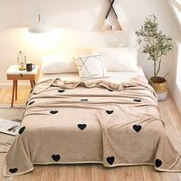 Papa&Mima Thin Throws Blanket Fleece Plaids Multisize Bedsheet Multifunctional Bedspread