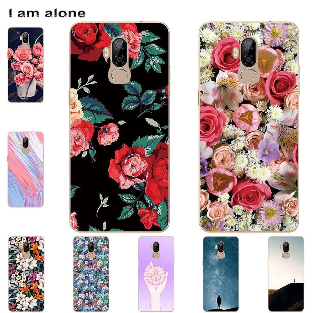I am alone Phone Case For Ulefone Gemini Mix Mix2 Mix S P6000 Plus Bags Fashion Color Cartoon Printe