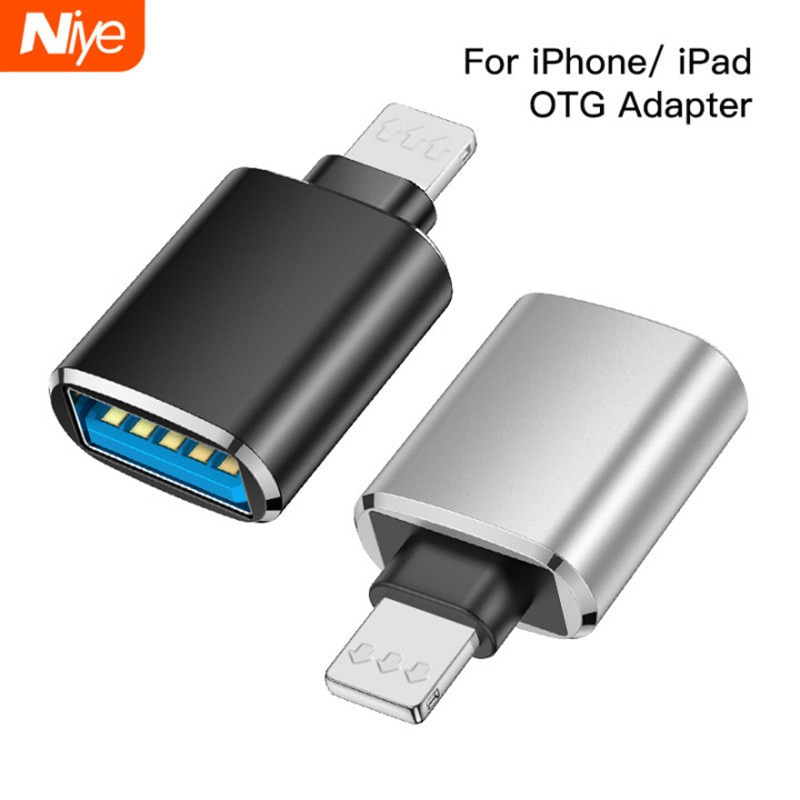 Otg adaptador para iphone 7 8x11 pro max conversores de dados de carregamento para ipad ios 13 para usb 3.0 suport u disco smartphones acessórios