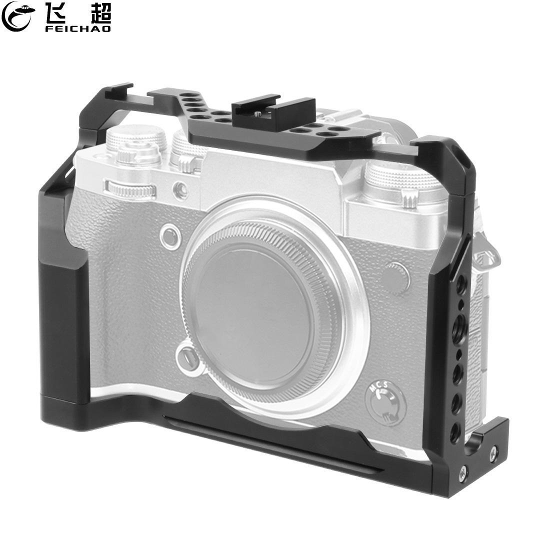XT4 كاميرا قفص النموذج المجهزة واقية كامل قفص ل فوجي فيلم فوجي X-T4 SLR أركا السويسرية الباردة حذاء جبل تصوير الفيديو ترايبود كيت