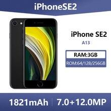 Débloqué utilisé Apple iPhone SE 2 Smartphones 4.7 pouces 4G LTE A13 64/128/256GB ROM Hexa Core téléphones portables