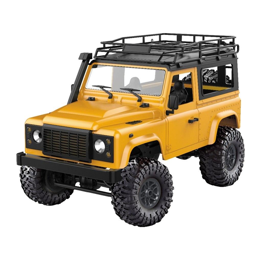 112 MN-90 coche trepador de Control remoto 2,4G 4WD Control remoto gran pie Off-road oruga vehículo militar modelo RTR camión de Control remoto Juguetes