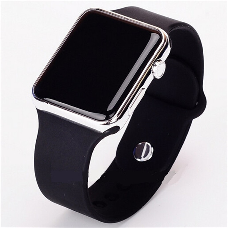 Reloj de pulsera Casual para mujer LED, reloj digital deportivo de silicona, regalos de Navidad, reloj Masculino, 2019 Relojes, reloj BK99