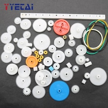 YongYeTai 63 kinds of gear bags, toy car gears, DIY accessories  free shipping