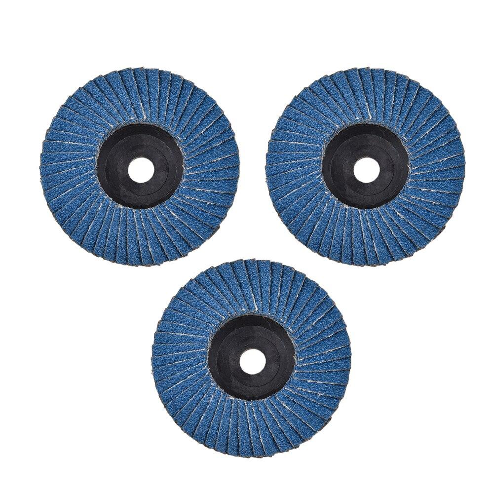Шлифовальные круги, откидные диски 75 мм, 3 дюйма, шлифовальный диск, шлифовальные круги, лезвия для угловой шлифовальной машины, абразивный и...