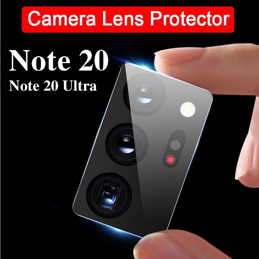 2 lentes de cámara de vidrio templado para Samsung Galaxy Note 20...
