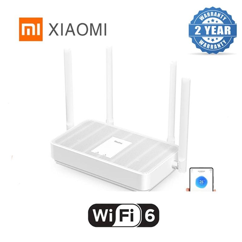 Xiaomi Redmi AX5 Wireless Router Network Repeater 4 High Gain Antennas Signal Extender Wifi 6 Dual Frequency Mesh 5G 802.11ac