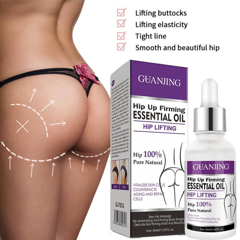 Hip Lift Up Buttock Enhancement Massage Oil Essential Oil Cream Ass Liftting Up Sexy Lady Hip Lift U