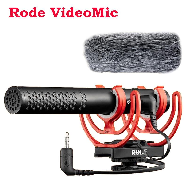 Rode-ميكروفون فيديو NTG ، لكاميرات كانون ، نيكون ، سوني ، DSLR ، الهواتف الذكية ، iPhone ، IOS ، Android ، 3.5 مللي متر